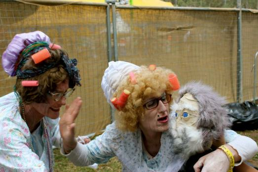 garbage grannies puppet peats ridge