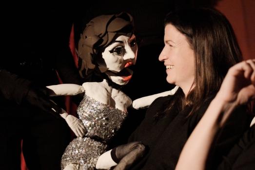 puppet cabaret singer