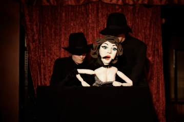burlesque puppetry
